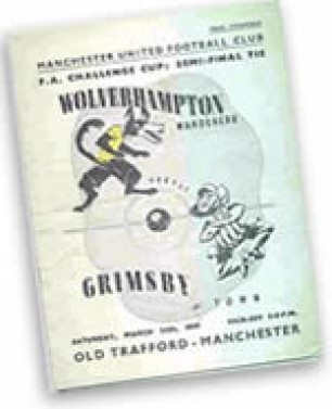 Wolves v Town FA Cup semi programme