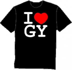 I heart GY t-shirt