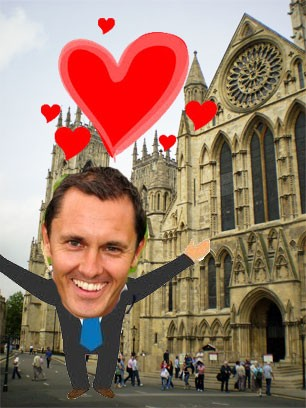 Paul Hurst pictured in York yesterday
