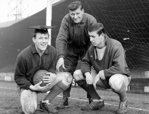 Posed shot of Charlie Wright, Clarrie Williams and Harry Wainman