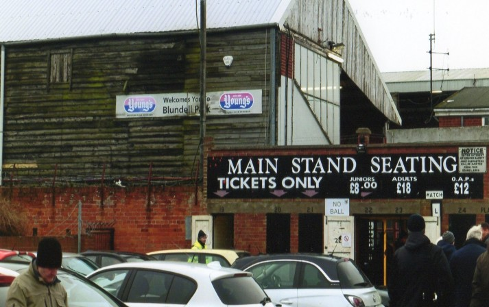 The entrance to the Main Stand