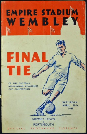 1939 FA Cup Final programme cover