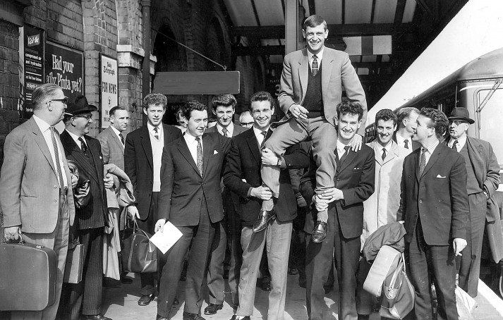 Grimsby's 1962 promotion team (Copyright Grimsgy Telegraph)